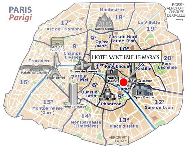 Location saint paul le marais hotel paris - Location marais paris ...